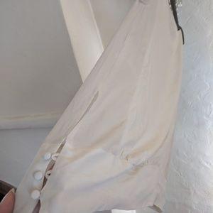 Eileen Fisher Silk Tunic w/ button detail